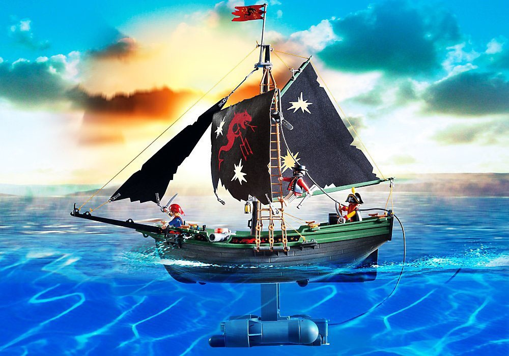 Remote Control Pirate Ship 2