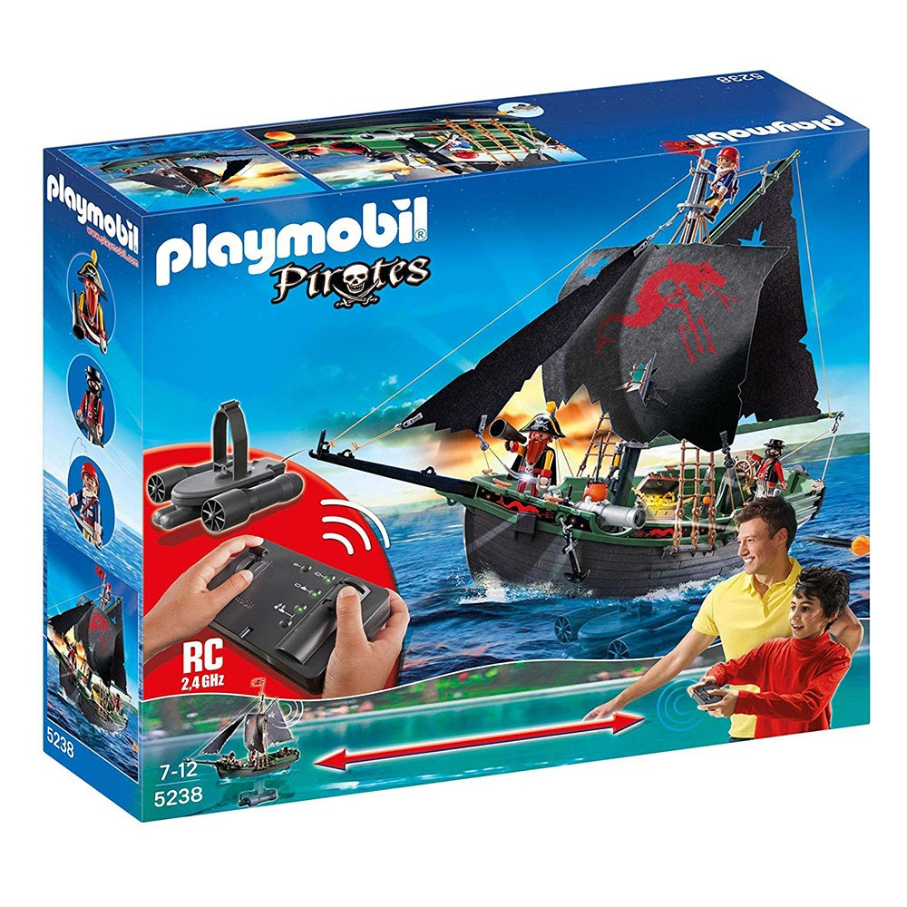 Remote Control Pirate Ship 3