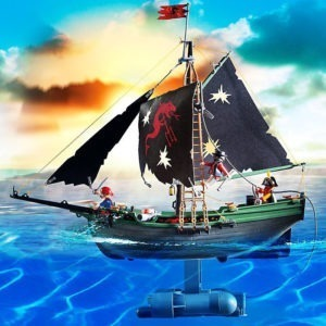 Remote Control Pirate Ship