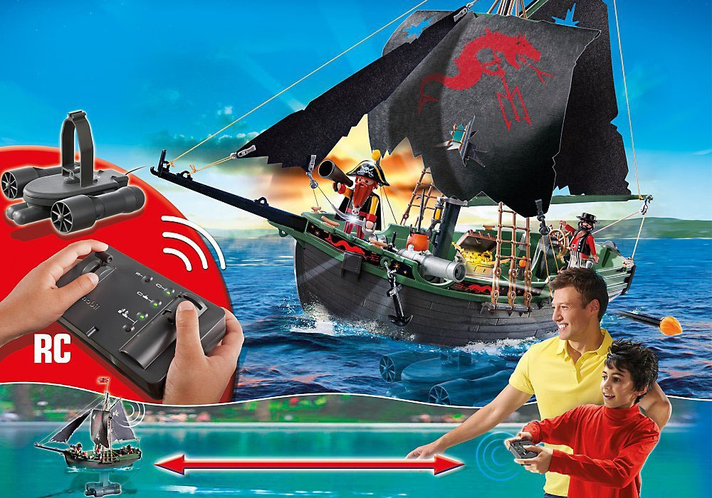 Remote Control Pirate Ship 4