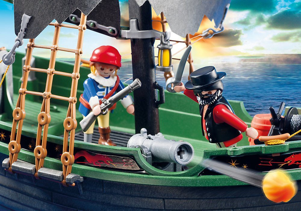 Remote Control Pirate Ship 6