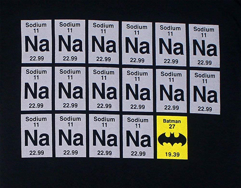 Sodium Batman T-Shirt 2