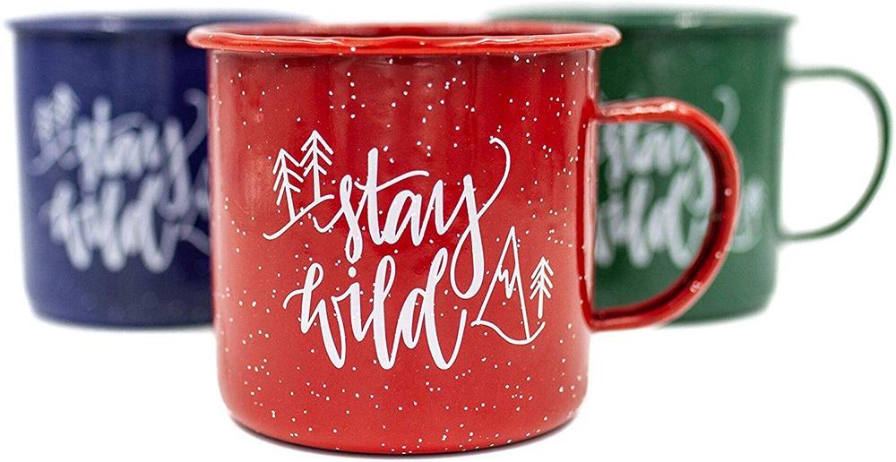 Stay Wild Camping Mug 2