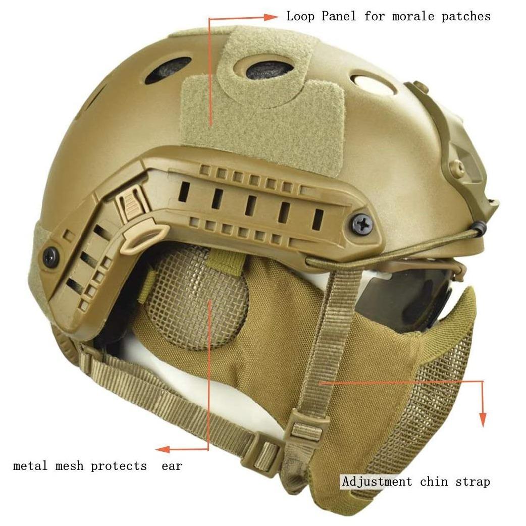 Tactical FAST Helmet 3