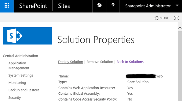 Downloading WSP Files From SharePoint Central Admin With PowerShell