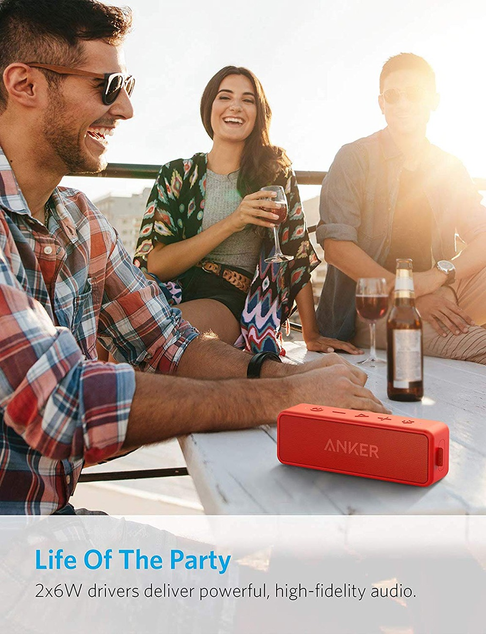 Anker Soundcore 2 Portable Bluetooth Speaker 11