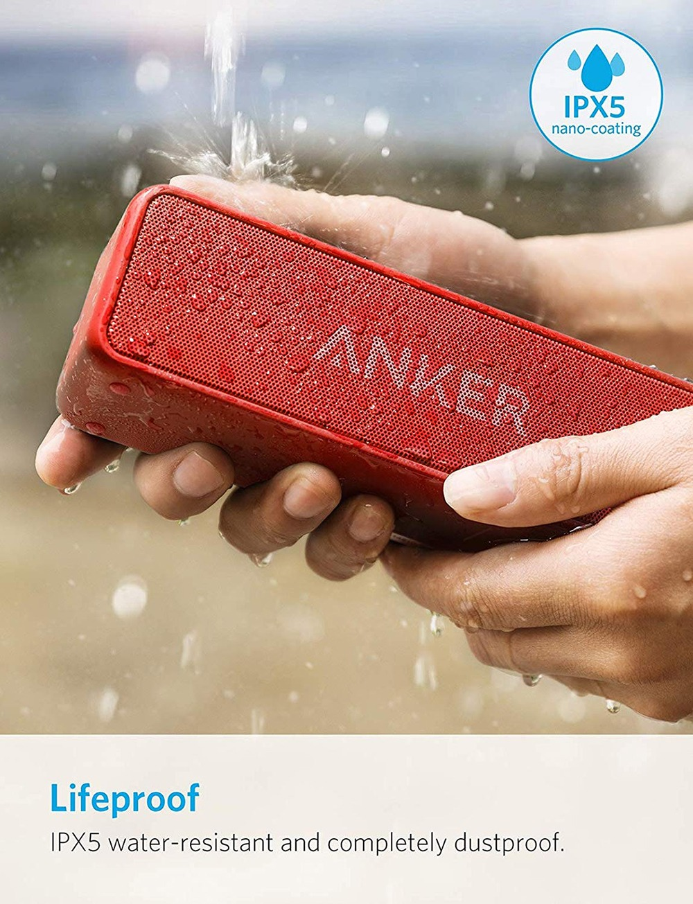 Anker Soundcore 2 Portable Bluetooth Speaker 5