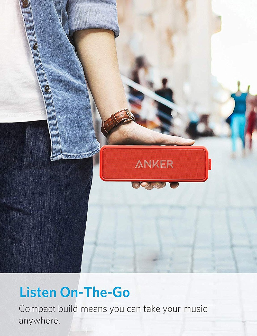 Anker Soundcore 2 Portable Bluetooth Speaker 7