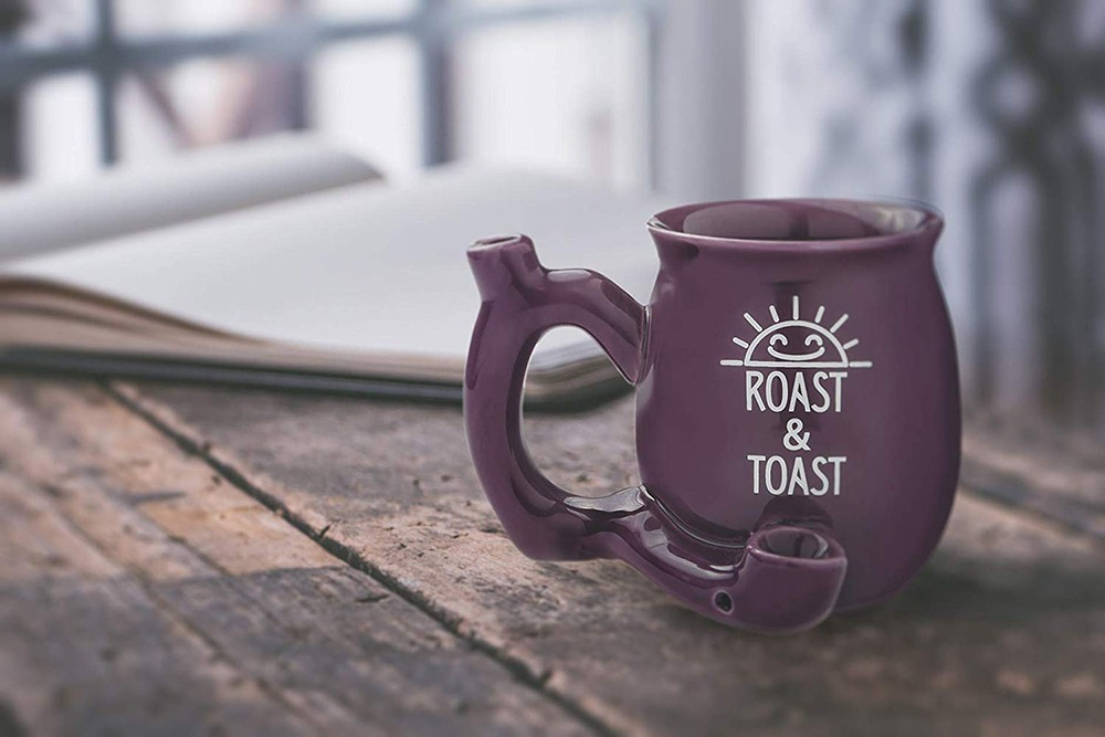 Roast And Toast Coffee Pipe Mug 3