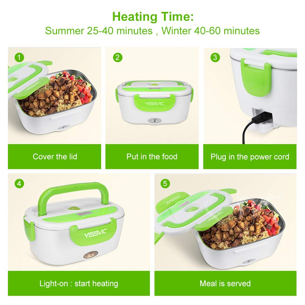 Battery Heated Lunch Box 3