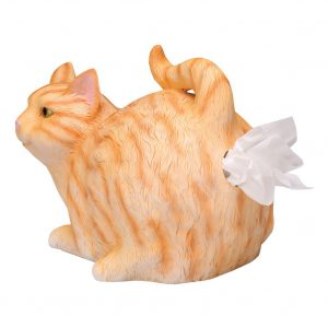 Cat Butt Tissue Dispenser