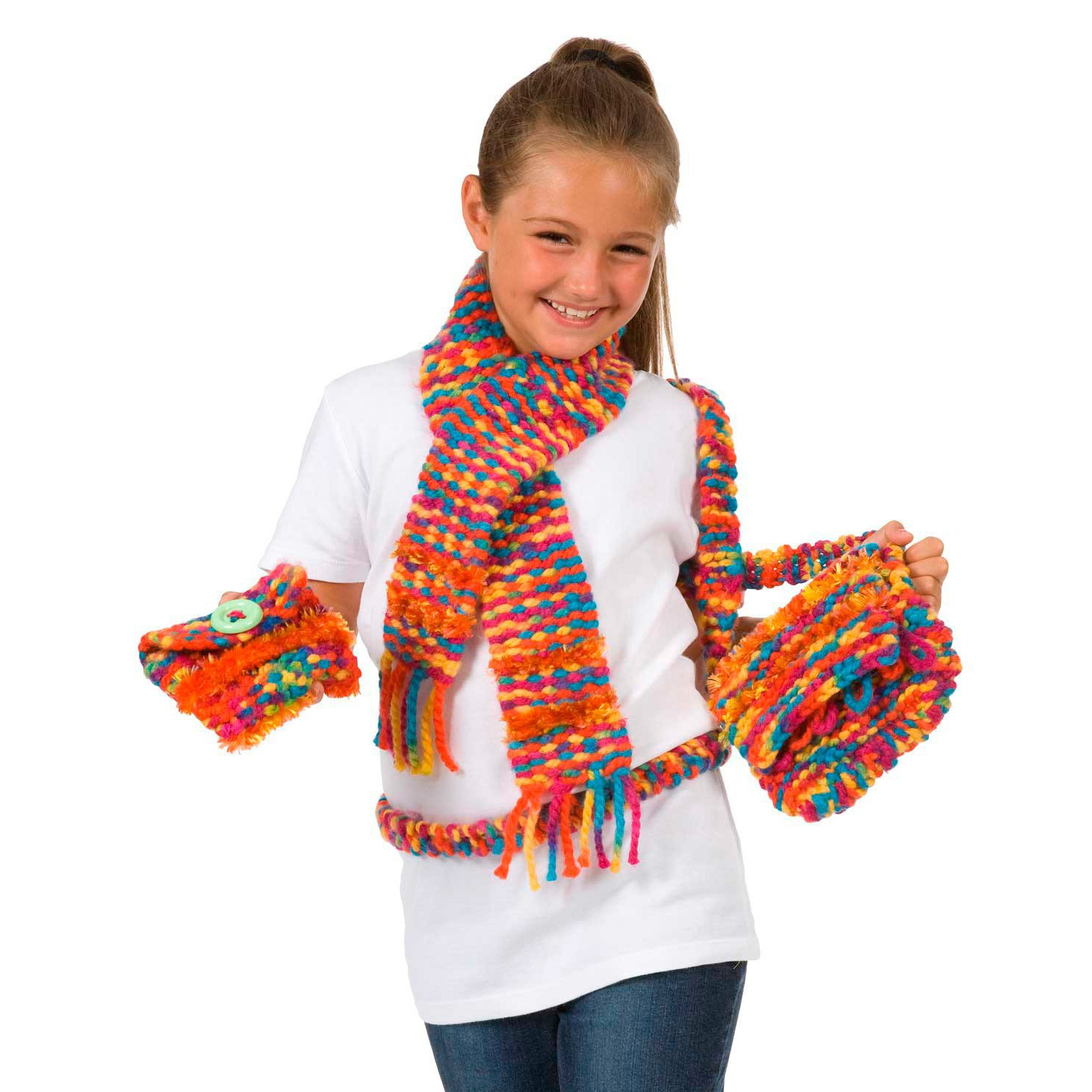 Children's Fashion Weaving Loom 4
