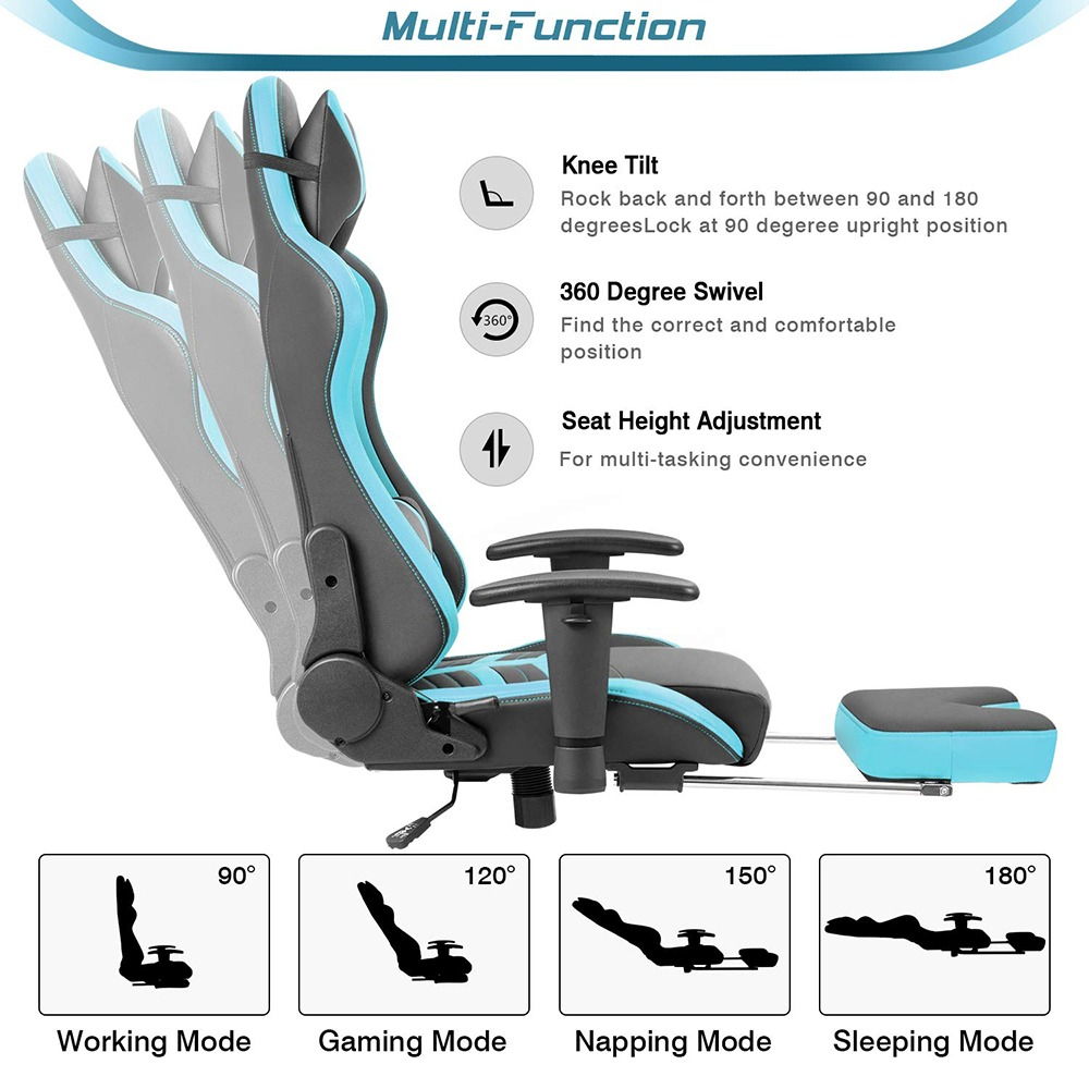 Full Reclining Gaming and Office Chair 2