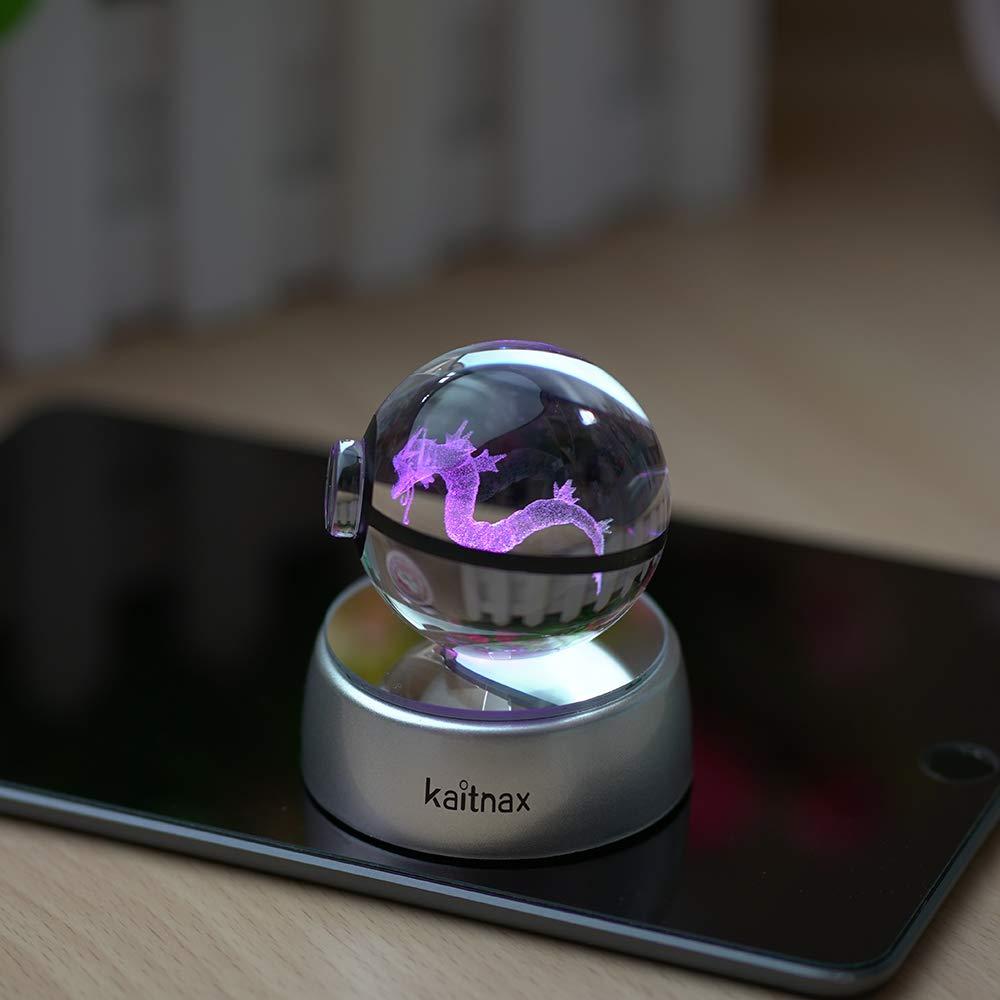 Laser Engraved Crystal Pokeballs 7