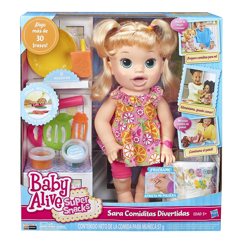 Baby Alive Snackin' Sara 5