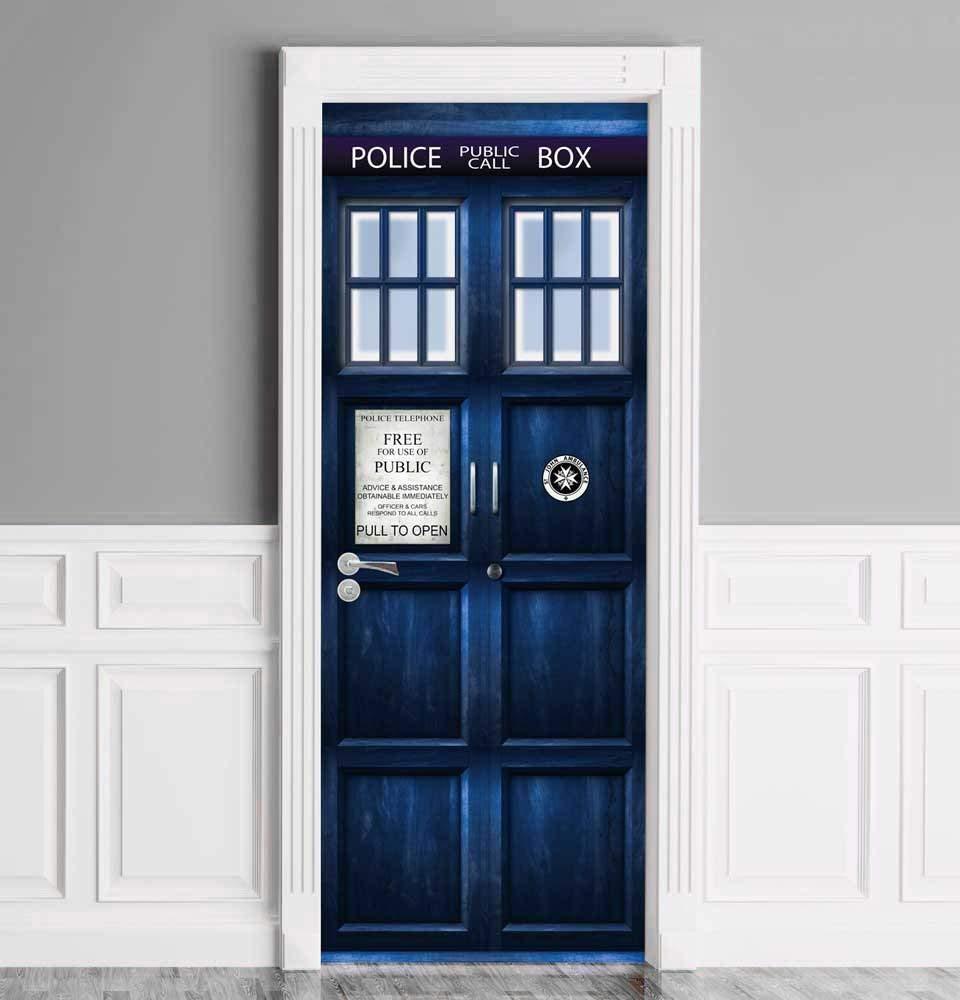 Doctor Who TARDIS Door Cover 2