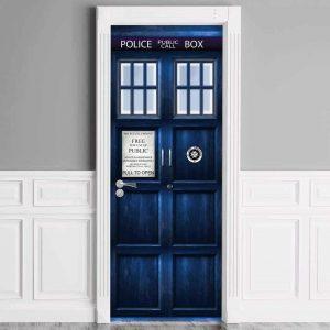 Doctor Who TARDIS Door Cover 3