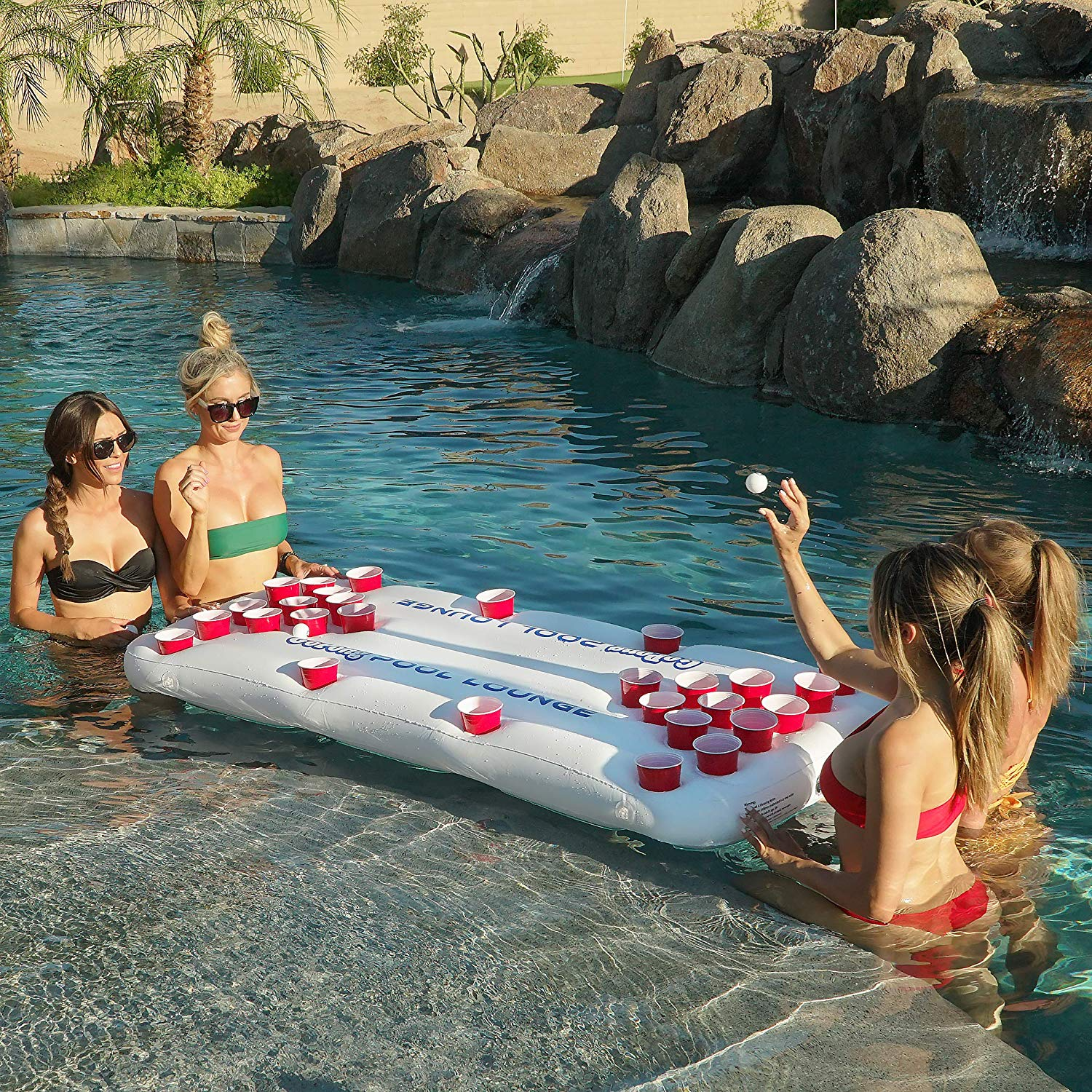 Floating Beer Pong Table 8