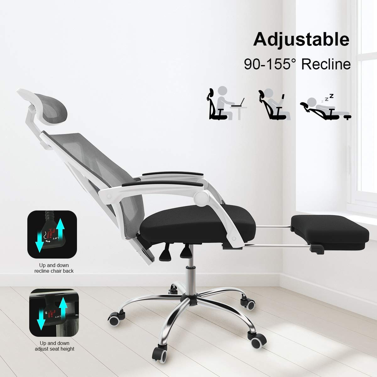Full Reclining Office Chair 3
