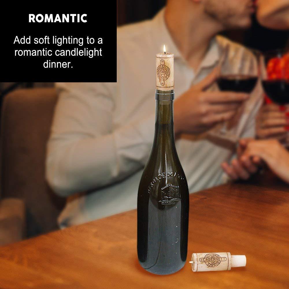 Merlot Scented Wine Cork Candles 5