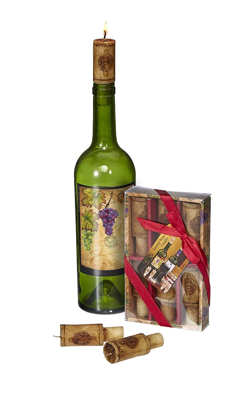 Merlot Scented Wine Cork Candles 6