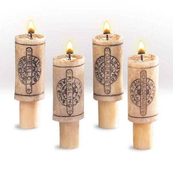 Merlot Scented Wine Cork Candles 7