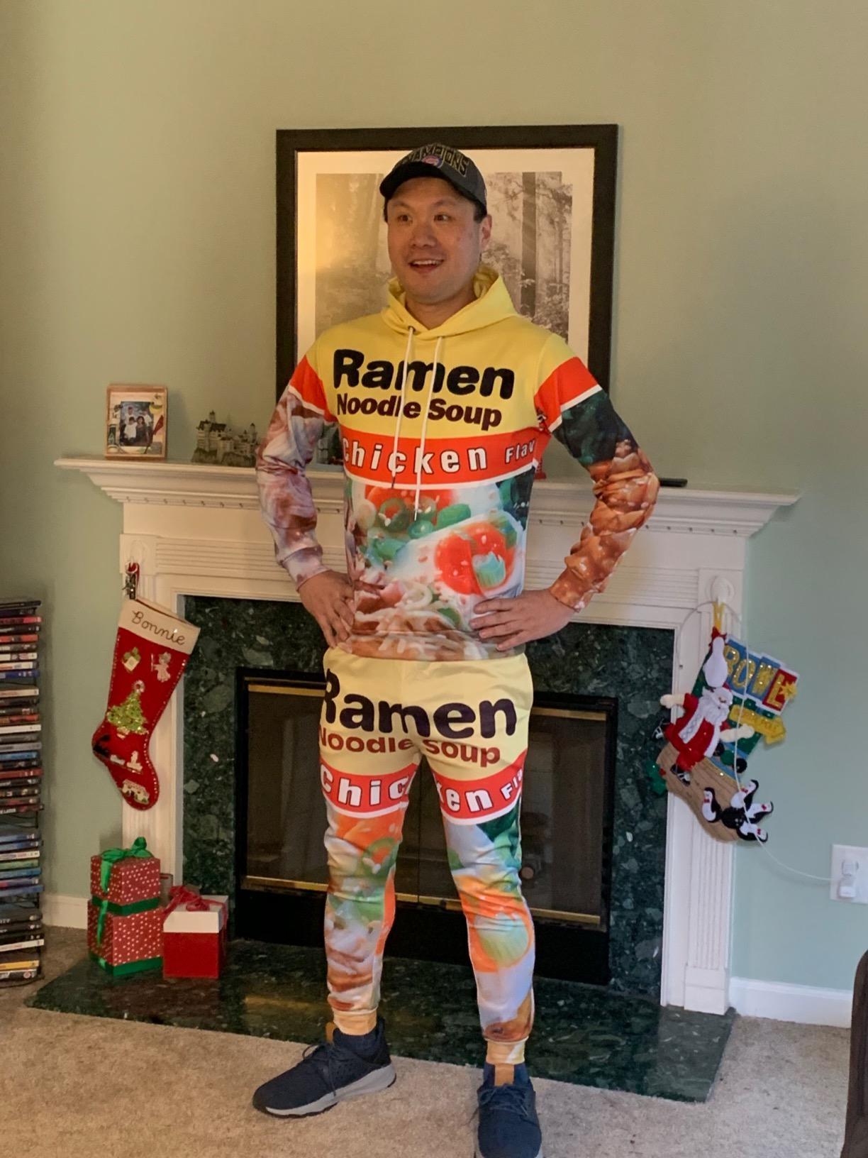 Ramen Hoodie With Pants