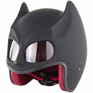 Batman Motorcycle Half Helmet 1