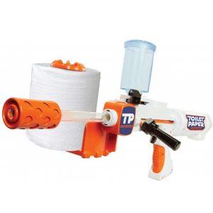 Toilet Paper Spitball Gun
