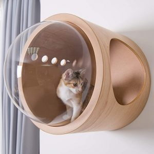 Wall Mounted Bubble Window Cat Bed