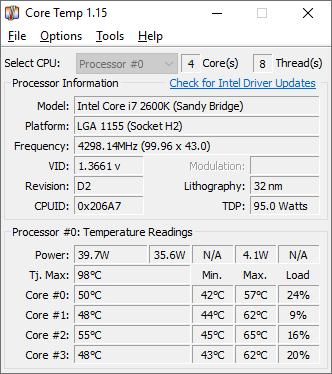 Core Temp Utility