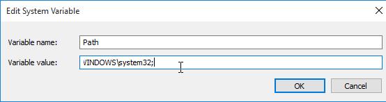 File path display image